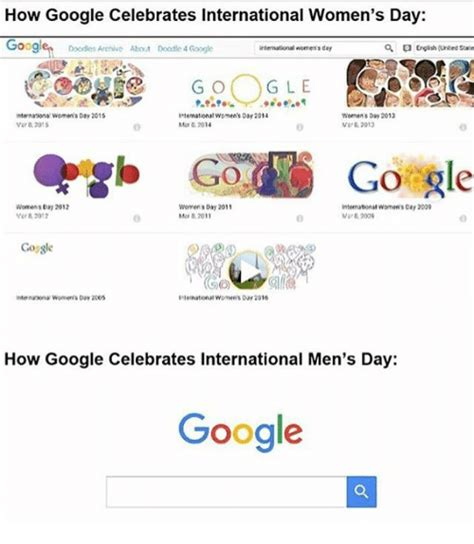 doodle 4 archive how celebrates international s day