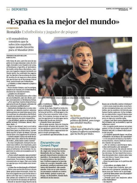 preguntas para entrevista jugador futbol ronaldo 171 siento curiosidad por ver a nadal jugando al