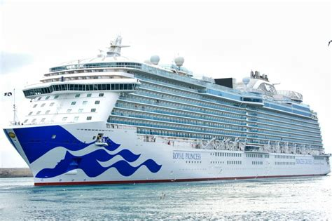 regal princess royal princess emerges from drydock with new livery photos