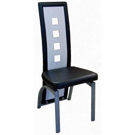 chaise blanche et noir lot de six chaises de salle 224 manger noir et bl achat