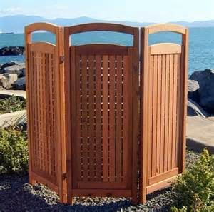 Privacy outdoors with a simple touch is to utilize a privacy screen a