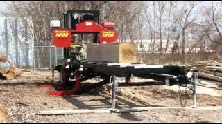 Norwood Lumberpro Hd36 Hydraulic Portable Band Sawmill