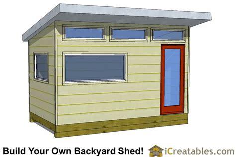 Studio Shed Plans by Modern Shed Plans Modern Diy Office Studio Shed Designs