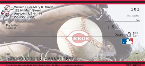 Uc Background Check Cincinnati Reds Mlb 174 Personal Checks