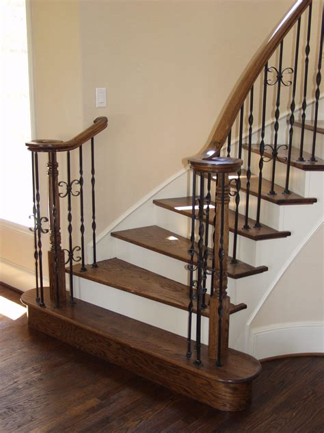 iron banisters 16 1 5 single ribbon iron baluster