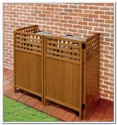 Storage Outside House Garbage Can Storage Bin Storage Decorations