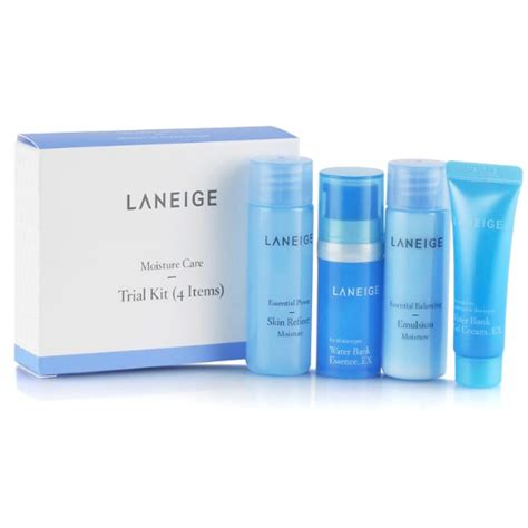 Water Bank Trial Kit laneige moisture care trial kit 4item shopee indonesia