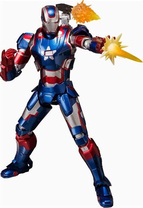 Bandai Shf Iron 3 Iron Patriot sh figuarts iron patriot iron 42 up for order