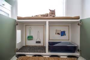 schrank katzenklo expand storage with multipurpose furniture diy
