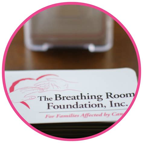 Breathing Room Foundation by The Breathing Room Foundation For Families Affected By