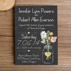 free sle wedding invitations boho rustic wedding invitations jars chalkboard ewi369 as low as 0 94