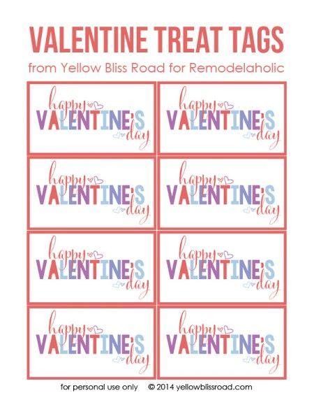 free printable valentine name tags top 25 ideas about free printable valentines on pinterest