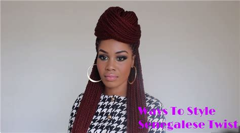 ways to style senegalese twist senegalese twist styles 3 ways to style your beautiful twists