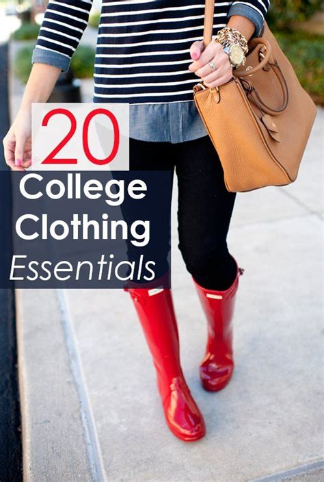 College Closet Essentials by Best 25 College Clothing Ideas On College