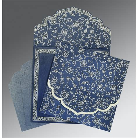 Getting Wedding Invitations Printed by Blue Wooly Floral Themed Screen Printed Wedding