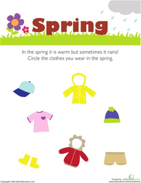 whats in seson to waer what do you wear in the spring seasons in the spring