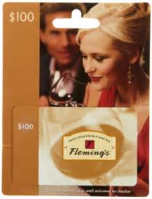 Flemings Gift Cards - fleming s gift card 100 shop giftcards