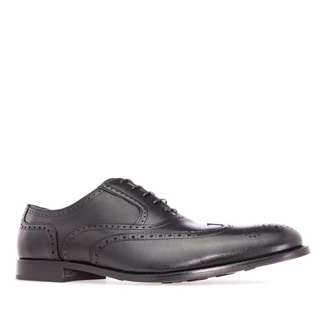 mens black leather oxford shoes mens oxford shoes in black leather alonai 169 90