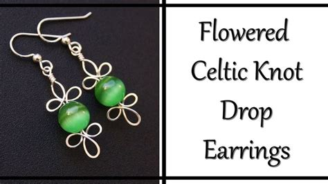 how to make celtic knot jewelry diy metal jewelry how to make celtic knot drop earrings