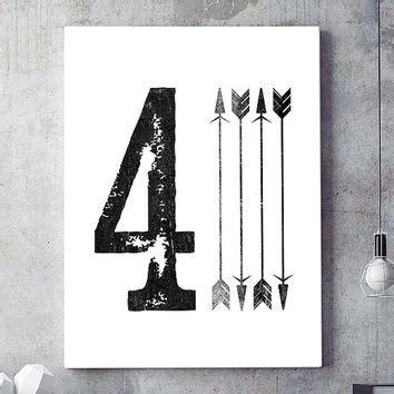 free printable numbers wall art shop contemporary black art prints on wanelo