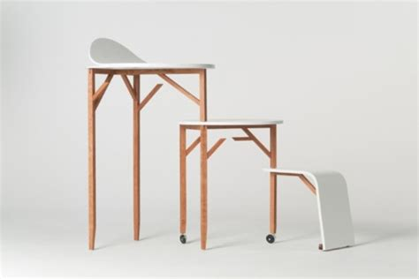 minimalist working desks from pianca digsdigs minimalist set of furniture with a bunch of functions for