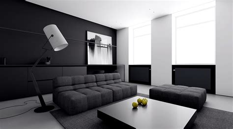 abstract for living room 4 monochrome minimalist spaces creating black and white magic