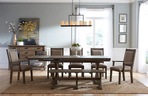 kincaid dining room kincaid furniture foundry 59 056 rustic weathered gray saw