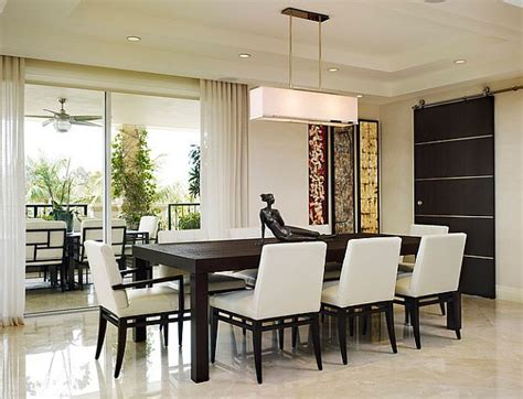 modern dining room decor modern dining room design lighting plushemisphere