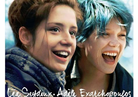 blue is the warmest color actresses new poster for blue is the warmest color actresses say