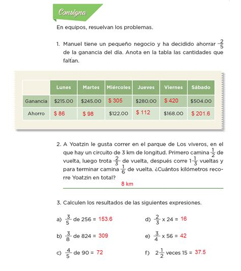 libro de 6 de matemticas contestado libro de matematicas de 6 grado contestado pagina 116