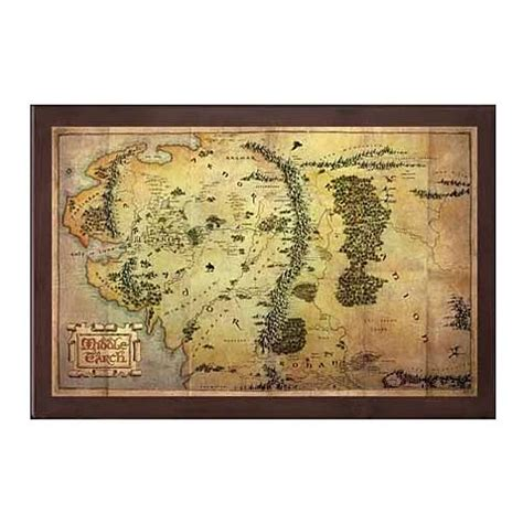 map of middle earth print the hobbit map of middle earth print noble