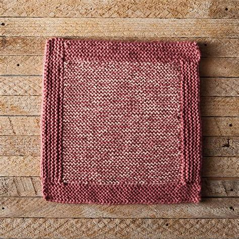 net logging pattern log cabin this week s free dishcloth pattern knitpicks
