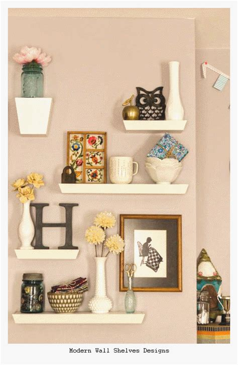 shelves design 23 modern wall shelves designs ideas 2016 home and house