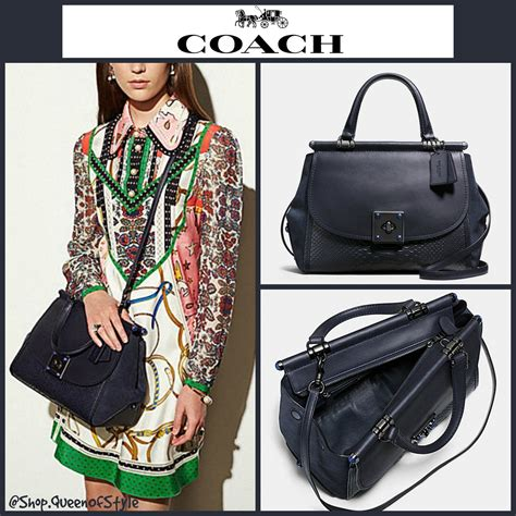 Pre Order Coach Swagger 27 Butterfly Carryall Asli Ori Authentic coach soft swagger 27 in colorblock leather 55193 buyma