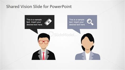 powerpoint template resolution opposing ideas conflict resolution powerpoint template