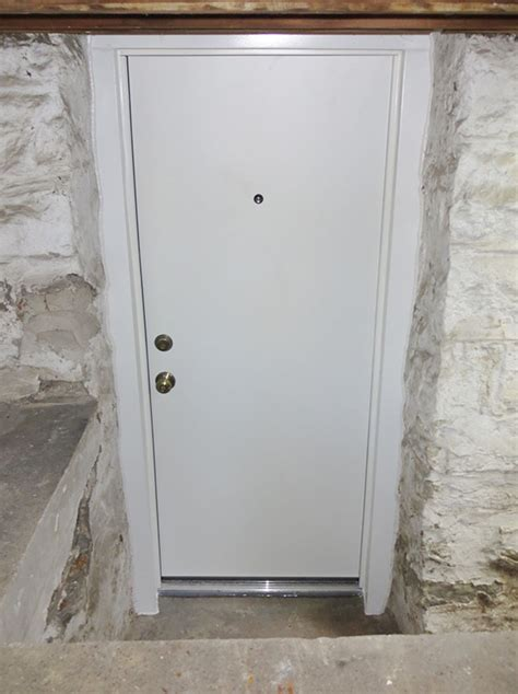 Basement Exterior Door Basement Doors In St Louis Steel Basement Doorsc