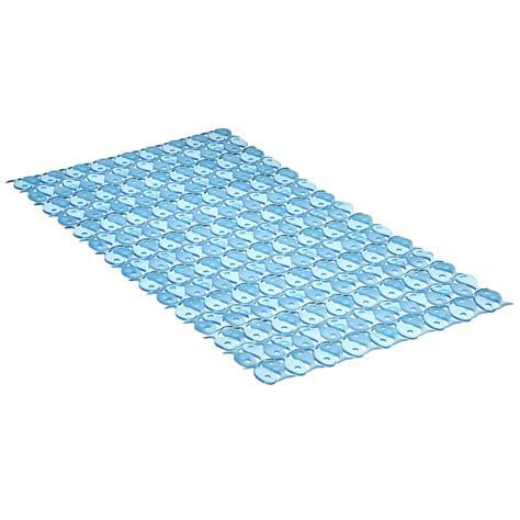tapis antid 233 rapant bleu pour baignoire fish leroy merlin