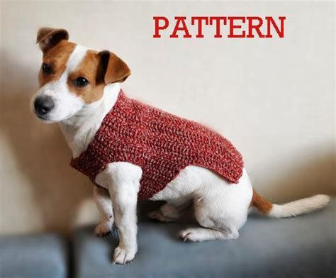 crochet pattern dog jumper crochet dog sweater patterns you your pup will love