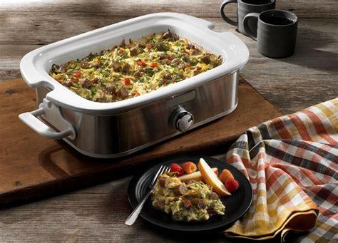 slow cooker overnight breakfast casserole johnsonville com