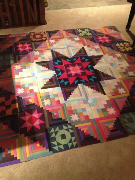 Quilts With A Twist by 275 Best Images About Log Cabin Quilts On