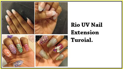 Uv Nail L Argos by Uv Gel Nails Tutorial
