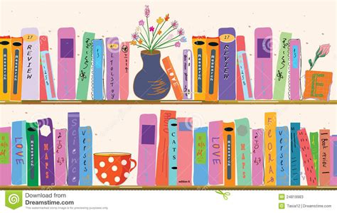 book shelves at home stock vector image of home banner