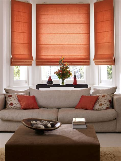 shades for living room mesmerizing decorations living room orange interior shade