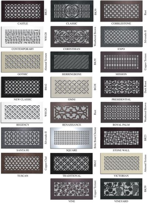 Decorative Air Return Vent Covers by Vent Covers Unlimited Custom Metal Registers And Air