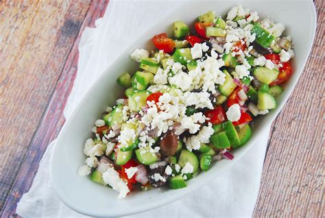 printable greek recipes greek salad recipe 2 points laaloosh