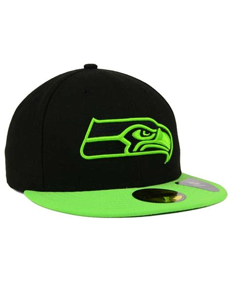 what are the seahawks colors ktz seattle seahawks colors 59fifty cap in green for