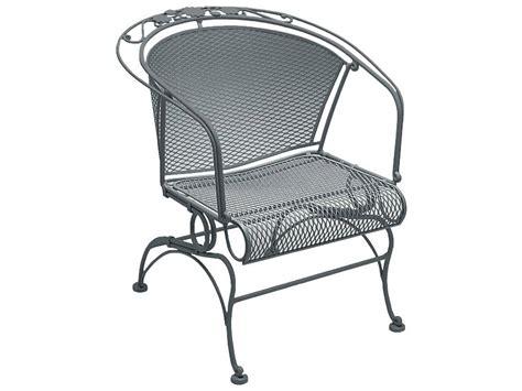 briarwood wrought iron patio furniture woodard briarwood wrought iron coil barrel chair