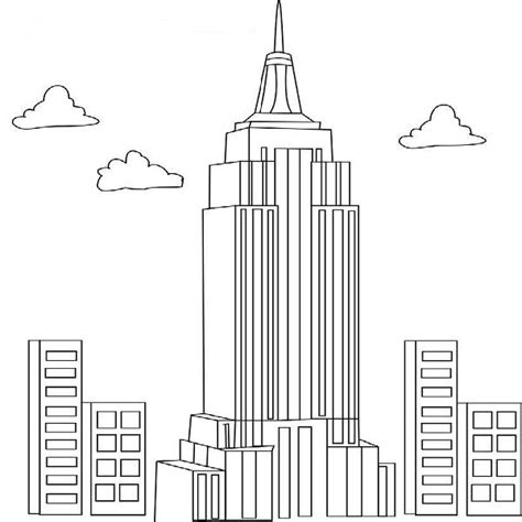 skyscraper coloring pages 9