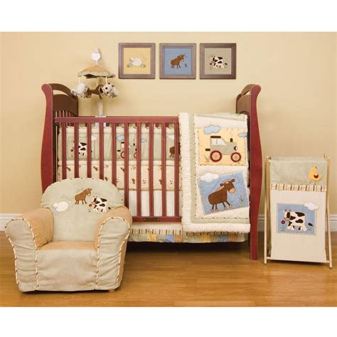farm crib bedding farm animal nursery bedding thenurseries