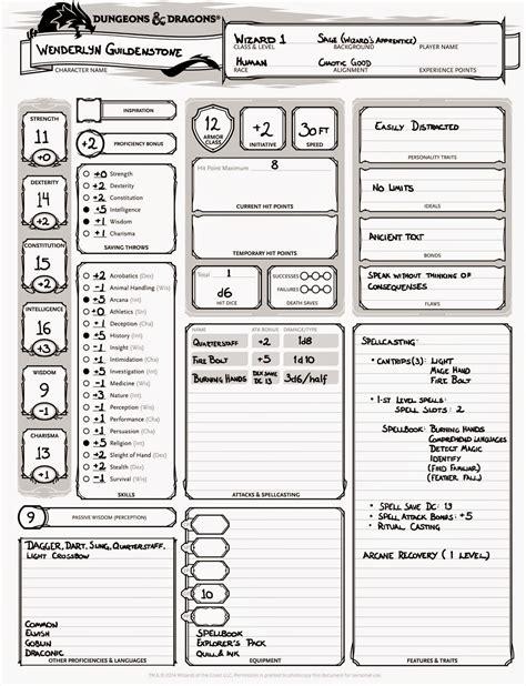 Wenderlyn 40 A 1 dnd basic wenderlyn guildenstone human wizard